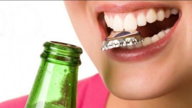 Газированные напитки вредны для зубов
