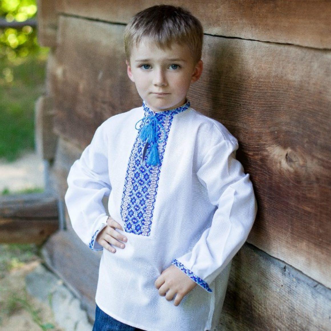 Вишита сорочка для хлопчика