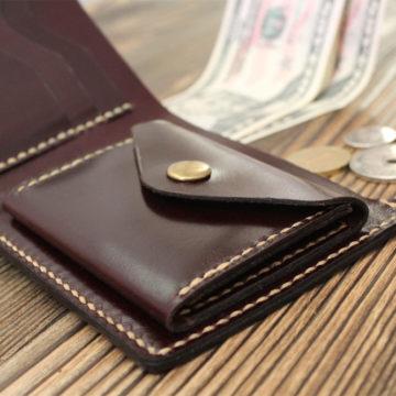 Кожаный кошелек: стильный мужской аксессуар