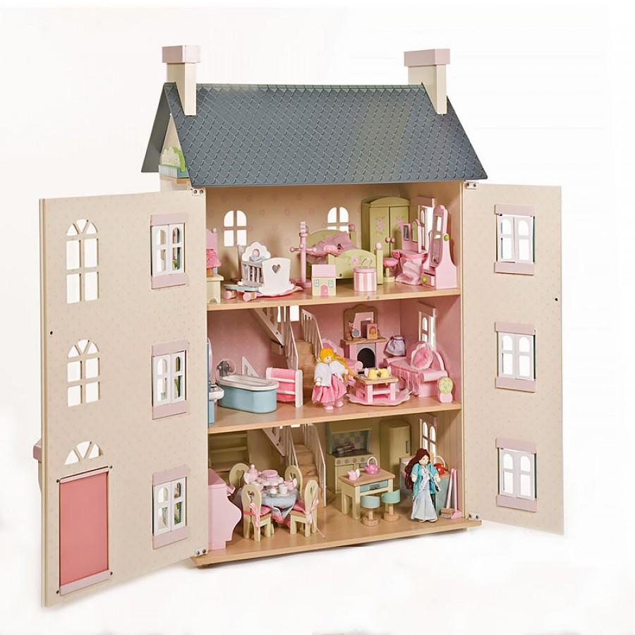 Широкий выбор кукольных домиков от интернет-магазина babyvil.ru